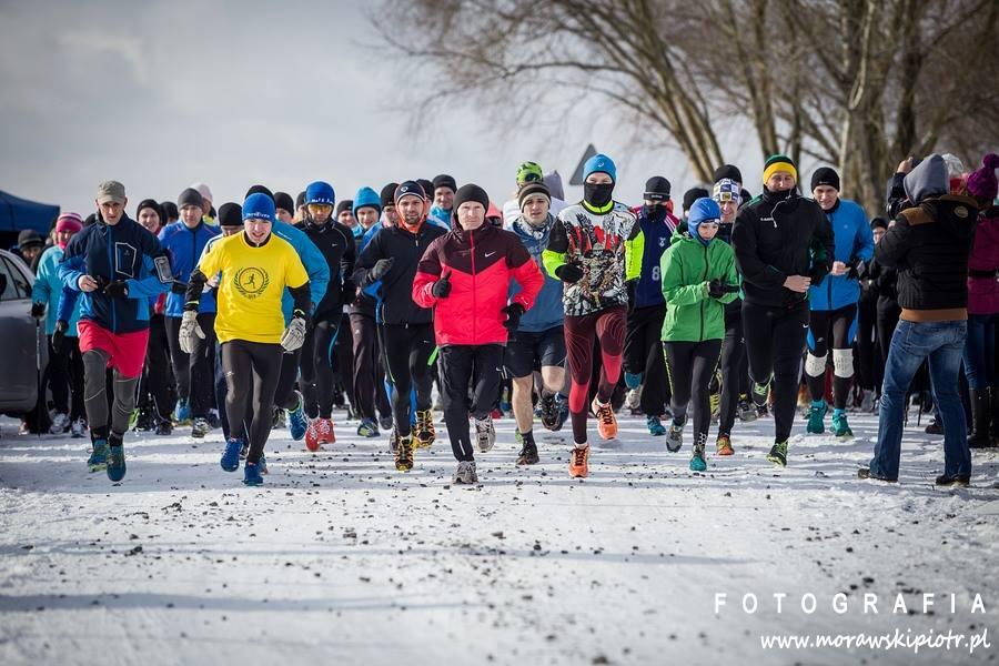 Rekreacyjny Bieg Zimowy i Nordic Walking wokół Jeziora Tarnobrzeskiego