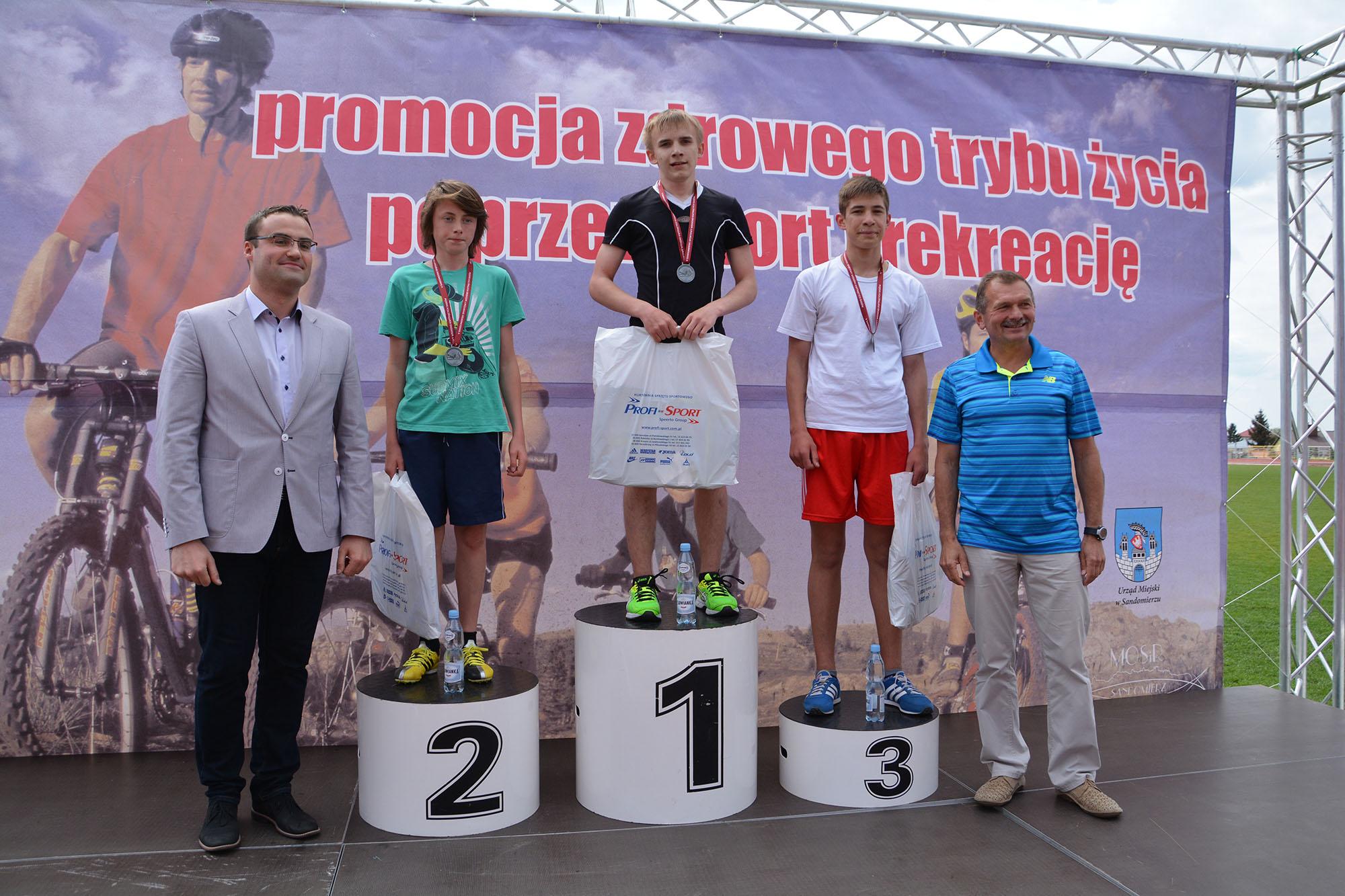 Biegi młodzieżowe w Sandomierzu
