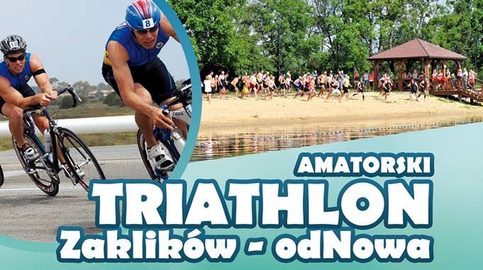 """II Amatorski Triathlon """"Zaklików – odNowa"""""""