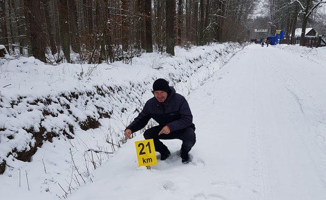 Zimowy półmaraton w Oleszycach